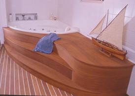 Laevatekk Merbau vannitoa/ spa põrandatele