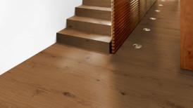 Laudparkett tamm Krokant rustik imperial plank trepp