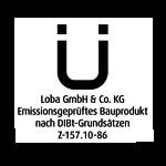 Signet DIBt Z-157 10-86 DE sw